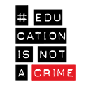 Education is not a crime