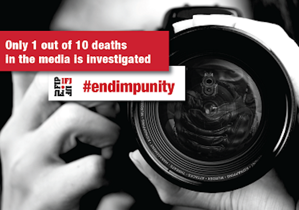 Day to End Impunity for Crimes Against Journalists