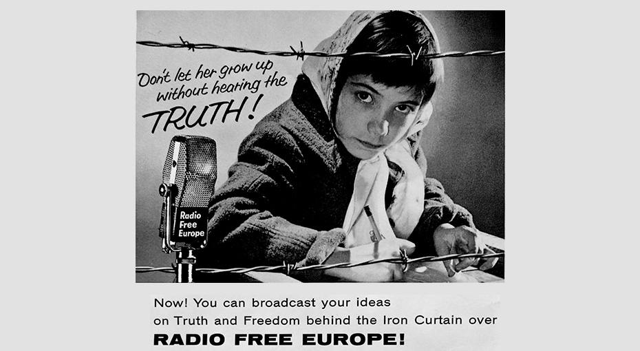 From Propaganda to Journalism: How Radio Free Europe Pierced the ...